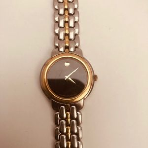 Movado Museum 2 tone Watch